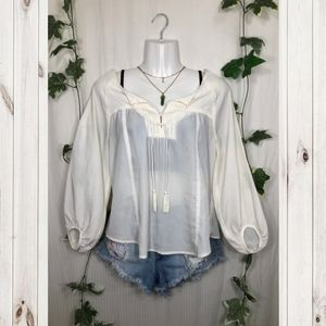 American Eagle Outfitters White Blouse!
